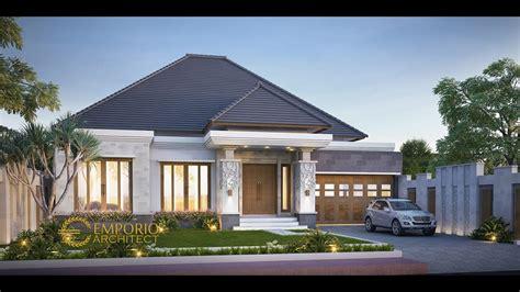 jasa arsitek desain rumah villa bali tropis bapak dwi