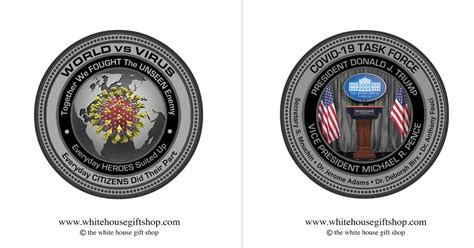 coins trump coronavirus checks covid fooled whitehousegiftshop outraged selling