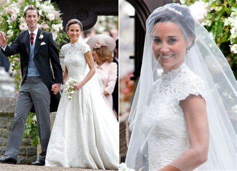 Pippa Middleton's Second Wedding Dress Was By This