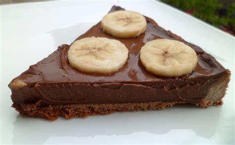tarte chocolat banane pate sablee tarte au chocolat et banane