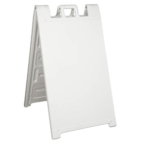 large sandwich board a frame sidewalk sign