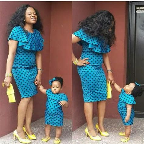 Baby Shower Maxi Dresses by Ankara Designs For Children 2016 Collection Lifestyle