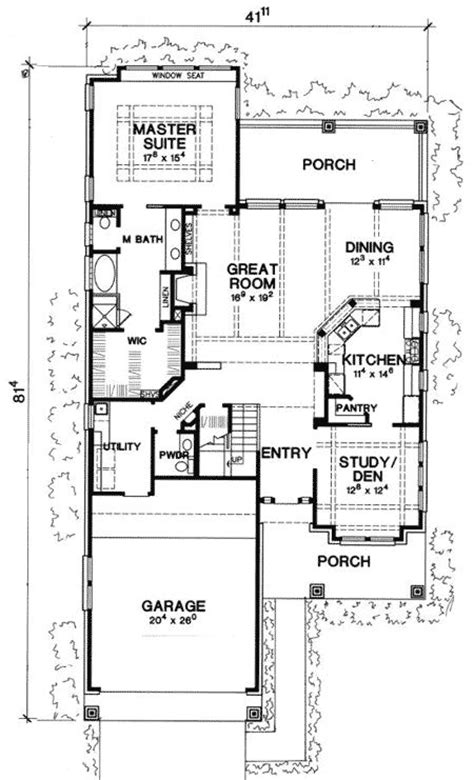 home plans for narrow lot narrow house plans woodworking projects plans