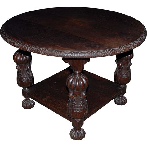 vintage wood coffee table coffee table antique coffee table for living room 6882