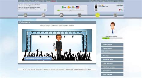 virtual popstar glamour square