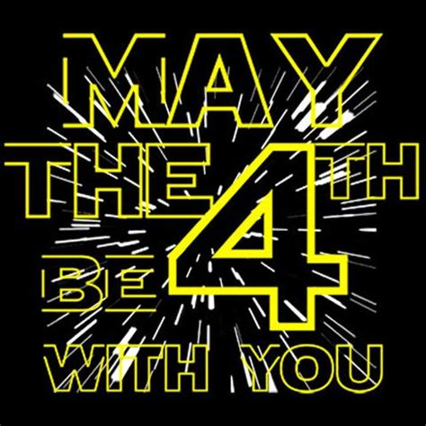 May The 4TH Be With You T-Shirt Funny New Of July ...