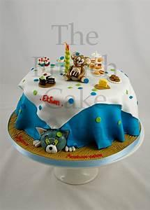 Gateau Anniversaire Garcon : cake for boys tom and jerry gateau d 39 anniversaire pour ~ Melissatoandfro.com Idées de Décoration