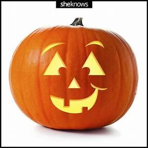 30  Happy Pumpkin Faces Carving Patterns  Designs