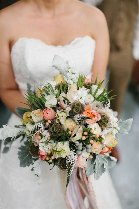 romantic vintage barn wedding  portland oregon flowers