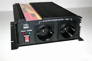 Wechselrichter 1000 Watt : wechselrichter 1000 2000 watt 12v 230v 855846 ~ Jslefanu.com Haus und Dekorationen
