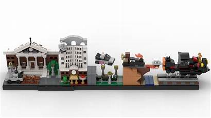 Future Lego Skyline Skylines