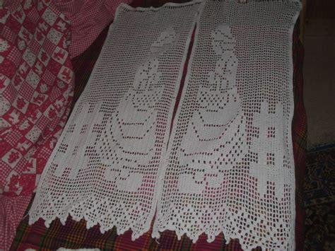 rideau filet photo de ouvrages crochet mamy et ses tr 233 sors