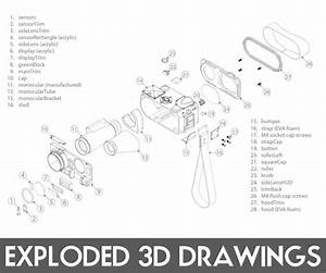Easy Exploded 3d Drawings  7 Steps  With Pictures