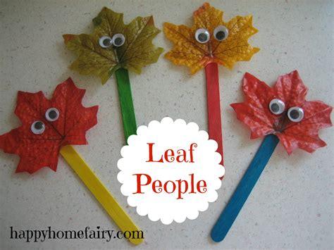 leaf people  printable happy home fairy