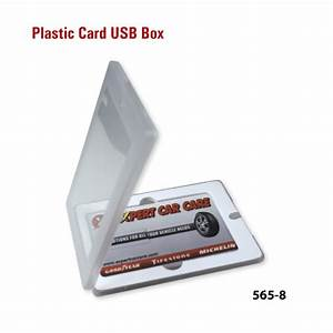 Plastic Box for Card USB Flash Drives and Custom Box
