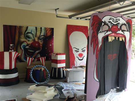 Halfway Hunted halfway there garage of clowns 2017 in 2019