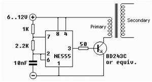 555 timer circuit other circuits nextgr With high voltage pulse generator circuit together with tesla coil circuit