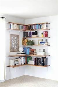 Etagere Bois Murale : l tag re biblioth que comment choisir le bon design ~ Nature-et-papiers.com Idées de Décoration