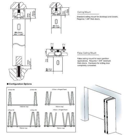 schematic puertas plegables puertas corredizas