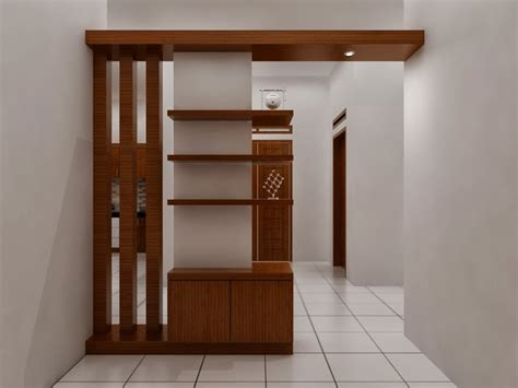 kitchen furnitur backdrop tv partisi dama desain interior
