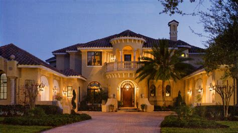Luxury Mediterranean House Plans Designs  House Design Plans