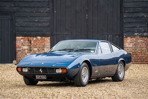 It was based on the chassis of the ferrari 365 gtb/4 daytona.the gtc/4's coup bodywork by pininfarina enclosed. 1972 Ferrari 365 GTC/4   The Hairpin Company