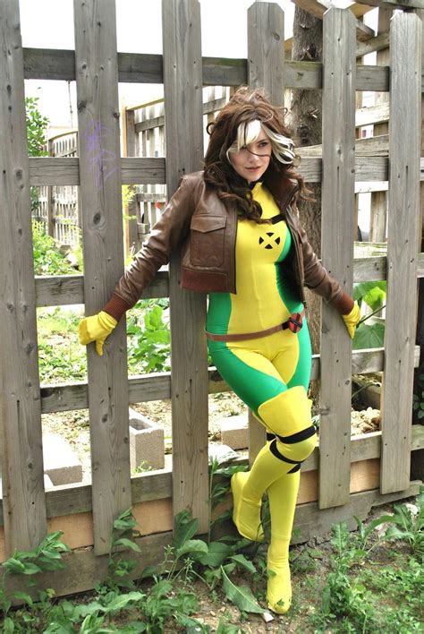 rogue cosplay marvel collection geektyrant costume xmen rouge rogues comic super cos play mens devin noll got updated woman joey