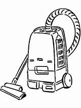 Vacuum Cleaner Coloring Pages Printable Mycoloring sketch template