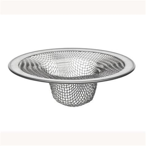 menards kitchen sink strainer plumb works 2 75 quot tub shower mesh strainer at menards 174