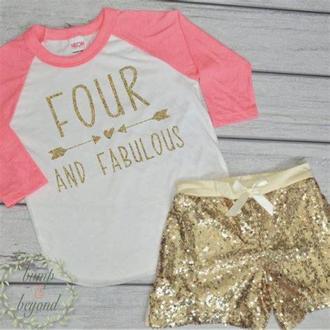 year  birthday shirt   fabulous girl fourth