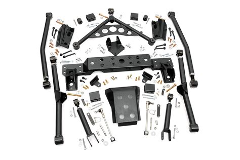 jeep lift kit box rou 909 rough country 99 04 jeep grand cherokee 4in x