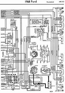 1956 Ford Thunderbird Wiring Diagram