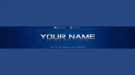 Descargar Youtube Banner Template by Youtube Banner Template Psd Sadamatsu Hp