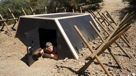 survival underground homemade shelter ftempo zombie apocalypse bunker shelters