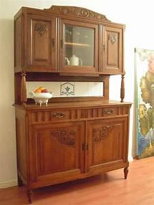 Antiker kuchenschrank aus dem elsass jugendstil 1900 in for Antiker küchenschrank