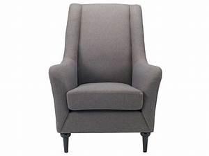 Fauteuil Gris Conforama : fauteuil chris coloris gris clair conforama pickture ~ Teatrodelosmanantiales.com Idées de Décoration