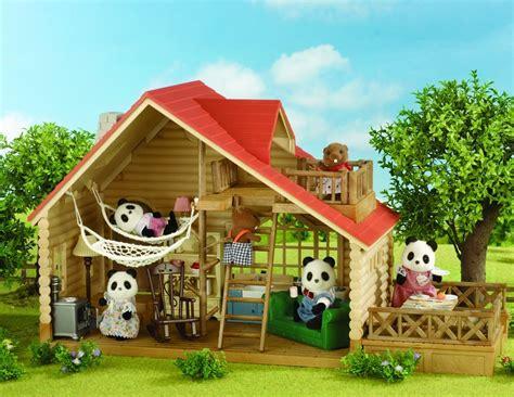 Sylvanian Families Log Cabin  Jac In A Box