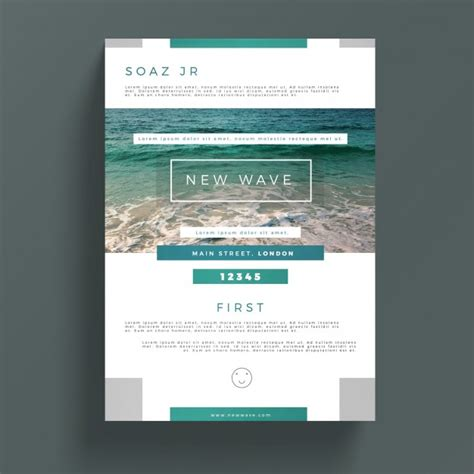creative business flyer template psd file free download