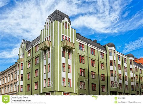 Architektur Jugendstil Merkmale by Jugendstil Architecture Stock Photo Image 52691521