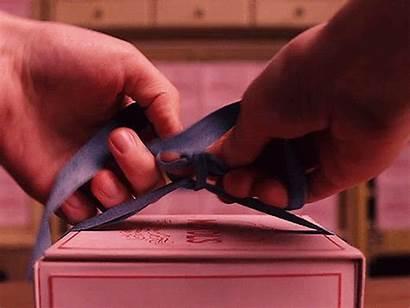 Ribbon Gift Box Diy Gifts Tie Knots