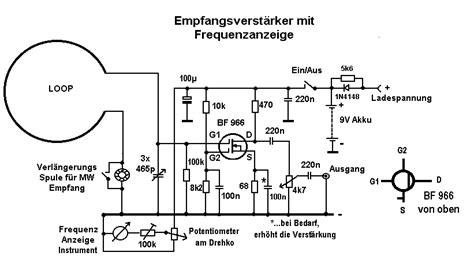 einfache aktive loop antenne fragen mikrocontrollernet