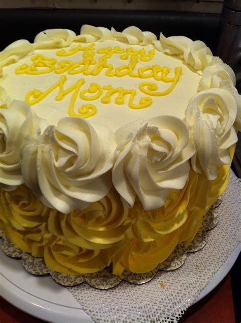 ombre yellow rose cake  cakes pinterest cakes