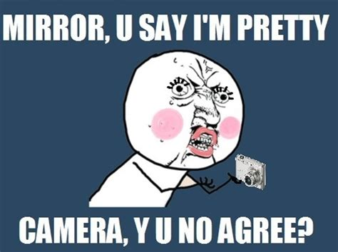 Mirror Meme - quot y u no quot guy images mirror vs camera hd wallpaper and background photos 21855887