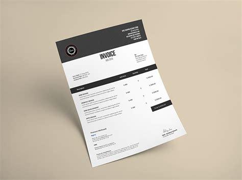 creative invoice designs   inspiration hongkiat