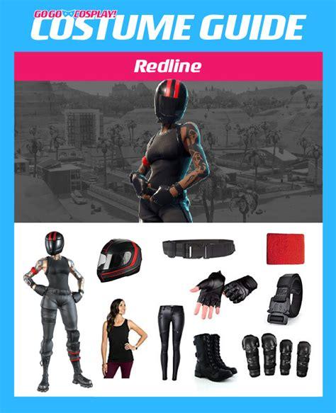 redline costume  fortnite br diy guide  cosplay