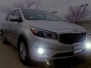 2015 2016 2017 2018 Kia Sedona Limited Fog Lamps Driving