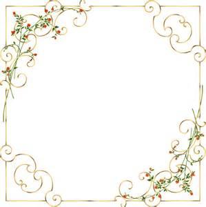 autumn wedding invitations golden floral picture border savas ayar