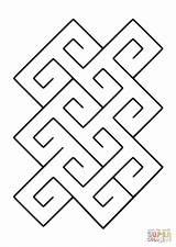 Pattern Spiral Coloring Celtic Pages Tile Quagmire Printable 1200px 26kb Dot Categories sketch template