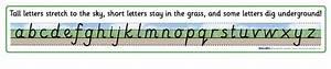 Ground  Grass And Sky Alphabet Banner  Sb748