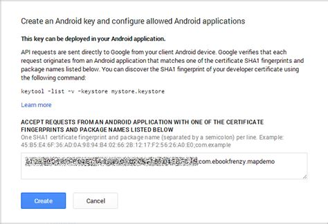 Console Api Key by Working With The Maps Android Api In Android Studio